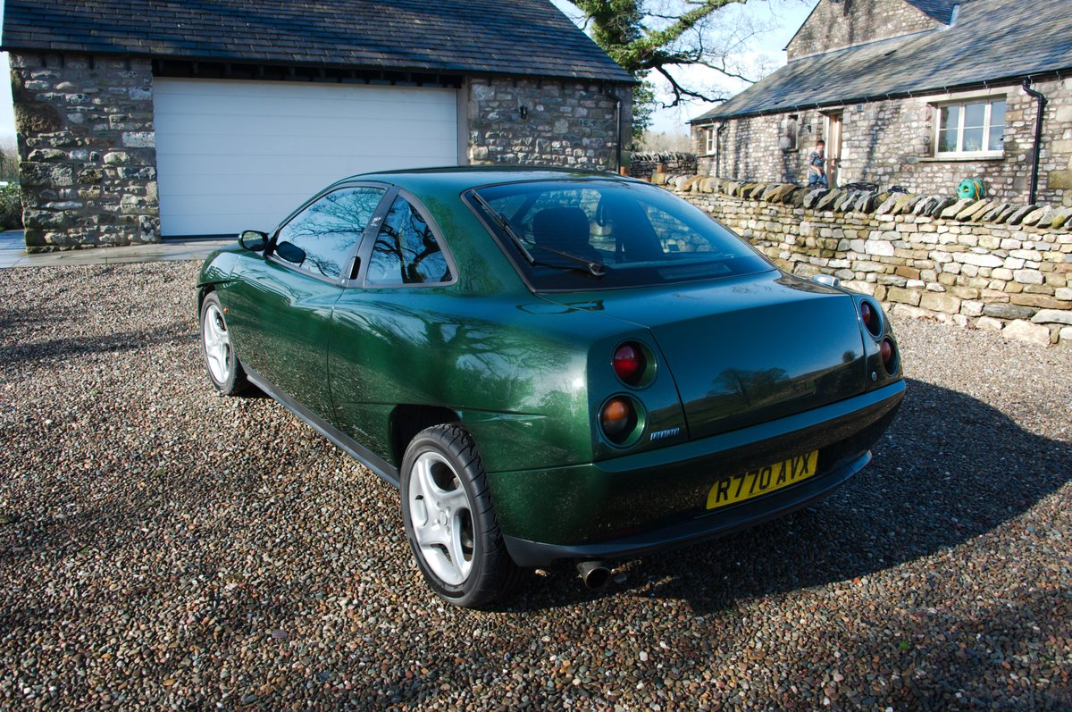 1998 Fiat Coupé 20V Turbo, scots green, one owner SOLD (picture 5 of 6)