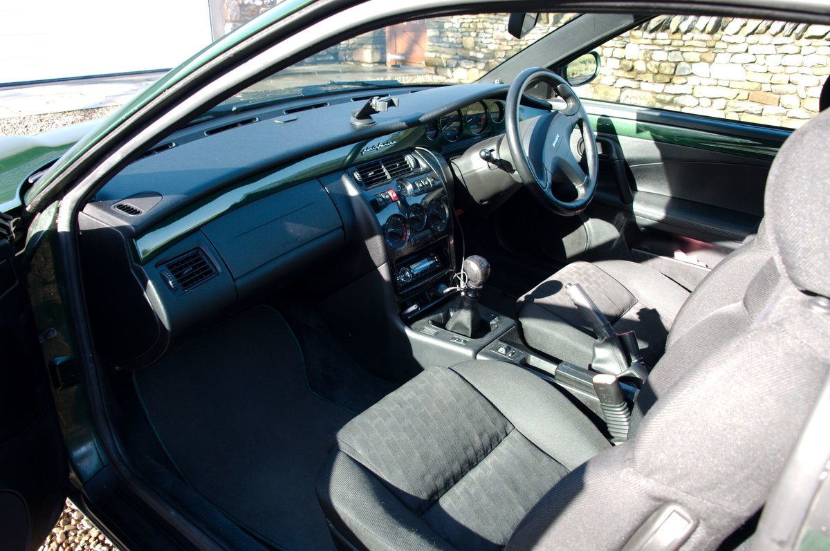 1998 Fiat Coupé 20V Turbo, scots green, one owner SOLD (picture 6 of 6)
