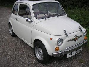 Fiat 500L original UK right hand drive car