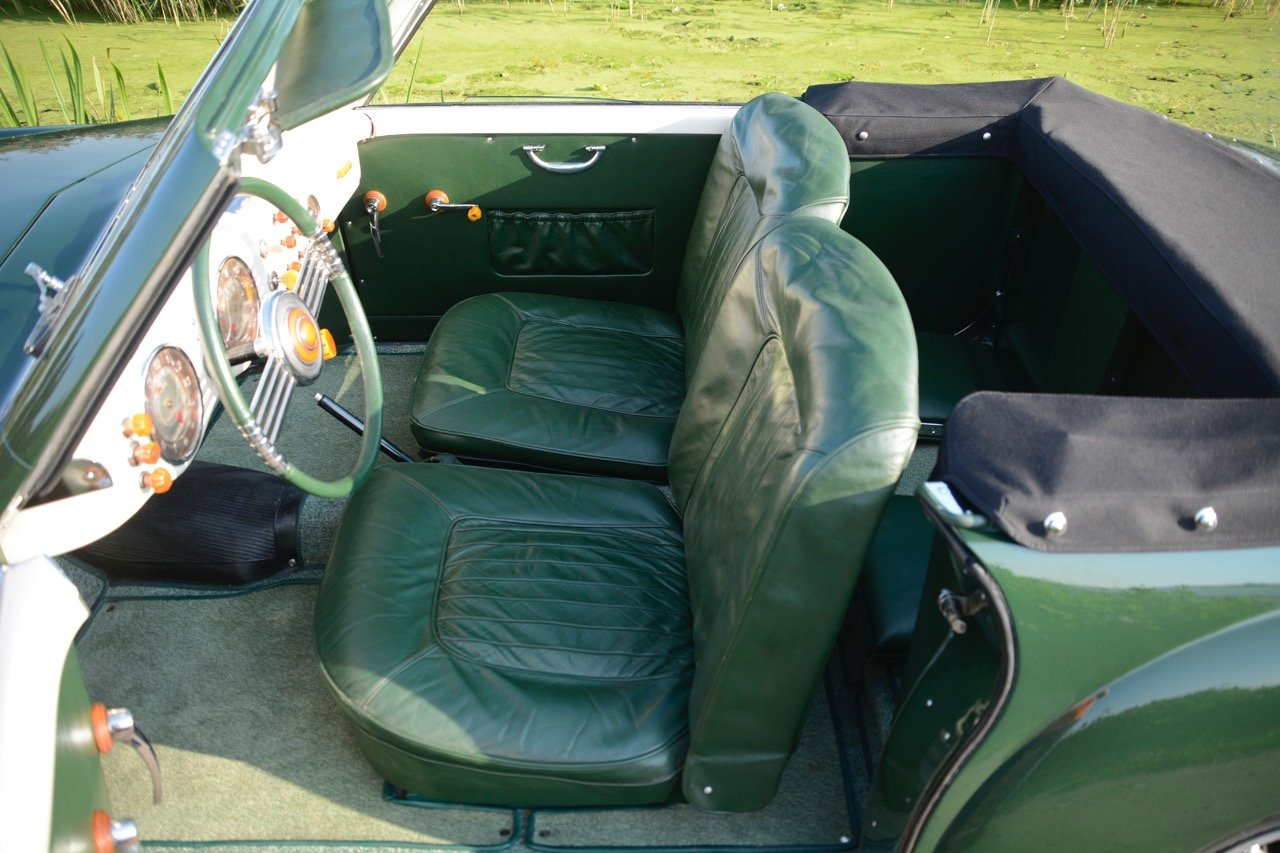 1949 Fiat 1100 B Cabriolet Stabilimenti Farina One-Off, ex-MM '17 For Sale (picture 3 of 6)