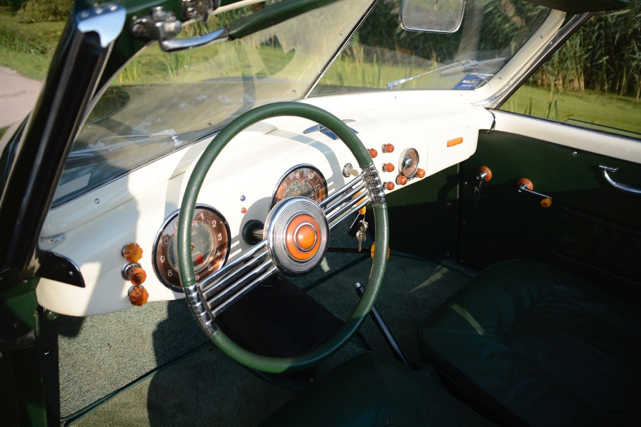 1949 Fiat 1100 B Cabriolet Stabilimenti Farina One-Off, ex-MM '17 For Sale (picture 5 of 6)