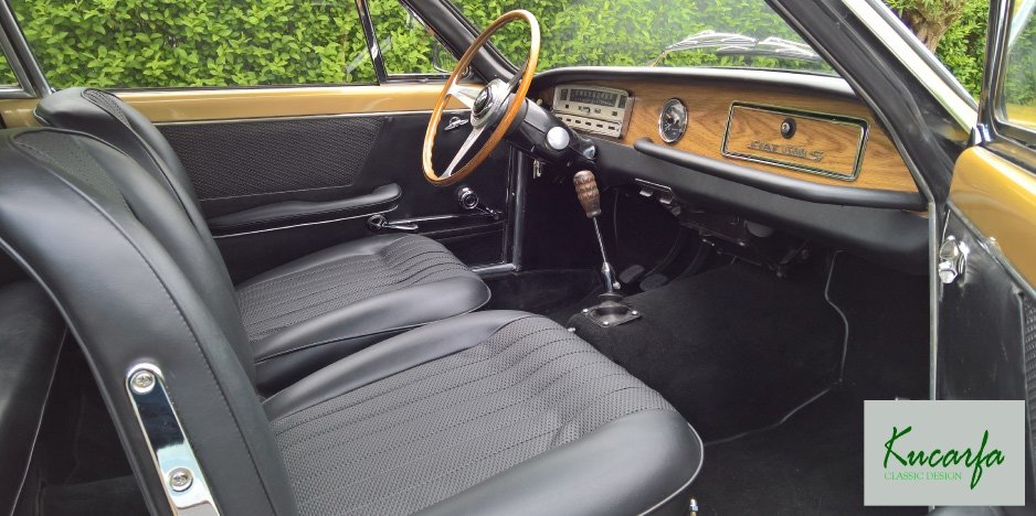 1965 Fiat 1300S Coupe Vignale For Sale (picture 5 of 6)