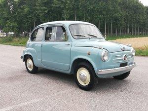 """1956 Fiat 600 """" vetri scorrevoli """" No reserve"""