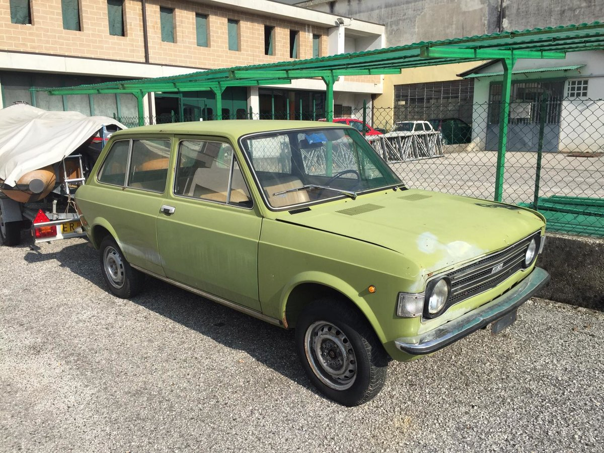 1974 Fiat 128 station , nearly rustfree For Sale (picture 1 of 6)