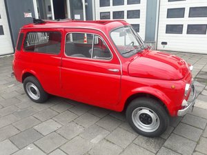 Picture of Fiat (autobianchi) giardiniera red 1972 dutchcar  8900 SOLD