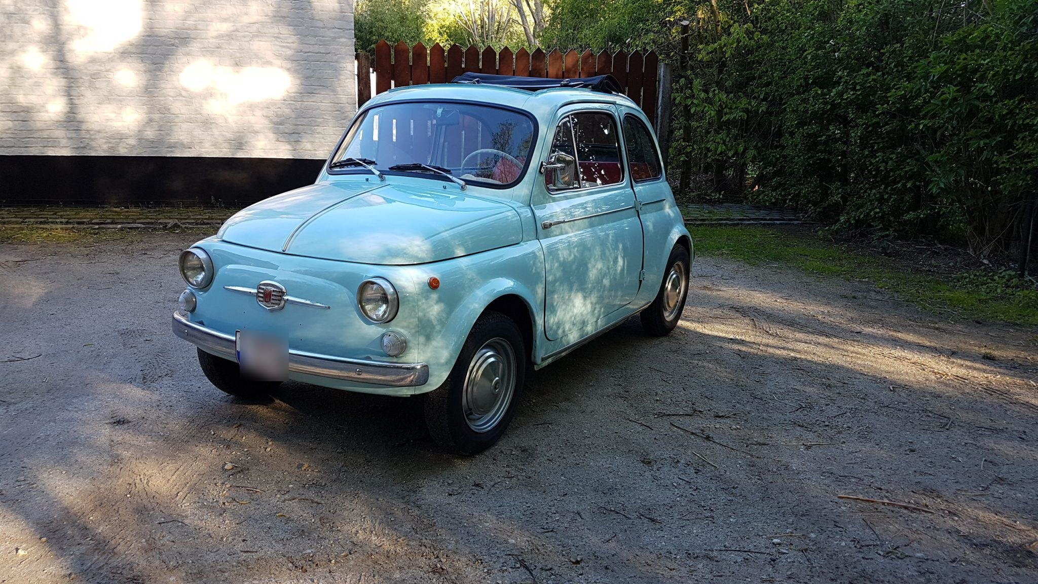 1965 Fiat 500 D Transformable For Sale (picture 1 of 6)