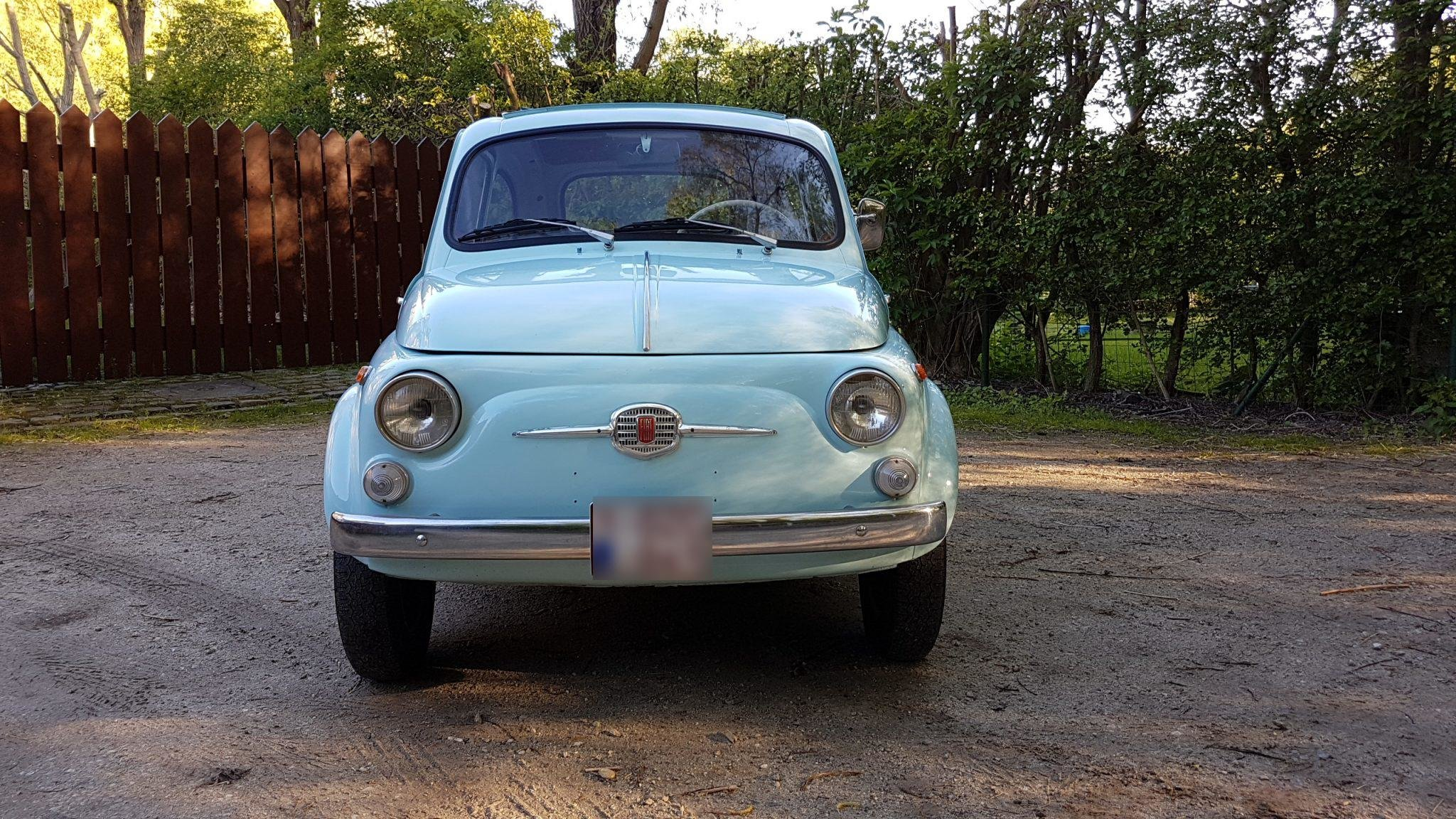 1965 Fiat 500 D Transformable For Sale (picture 2 of 6)