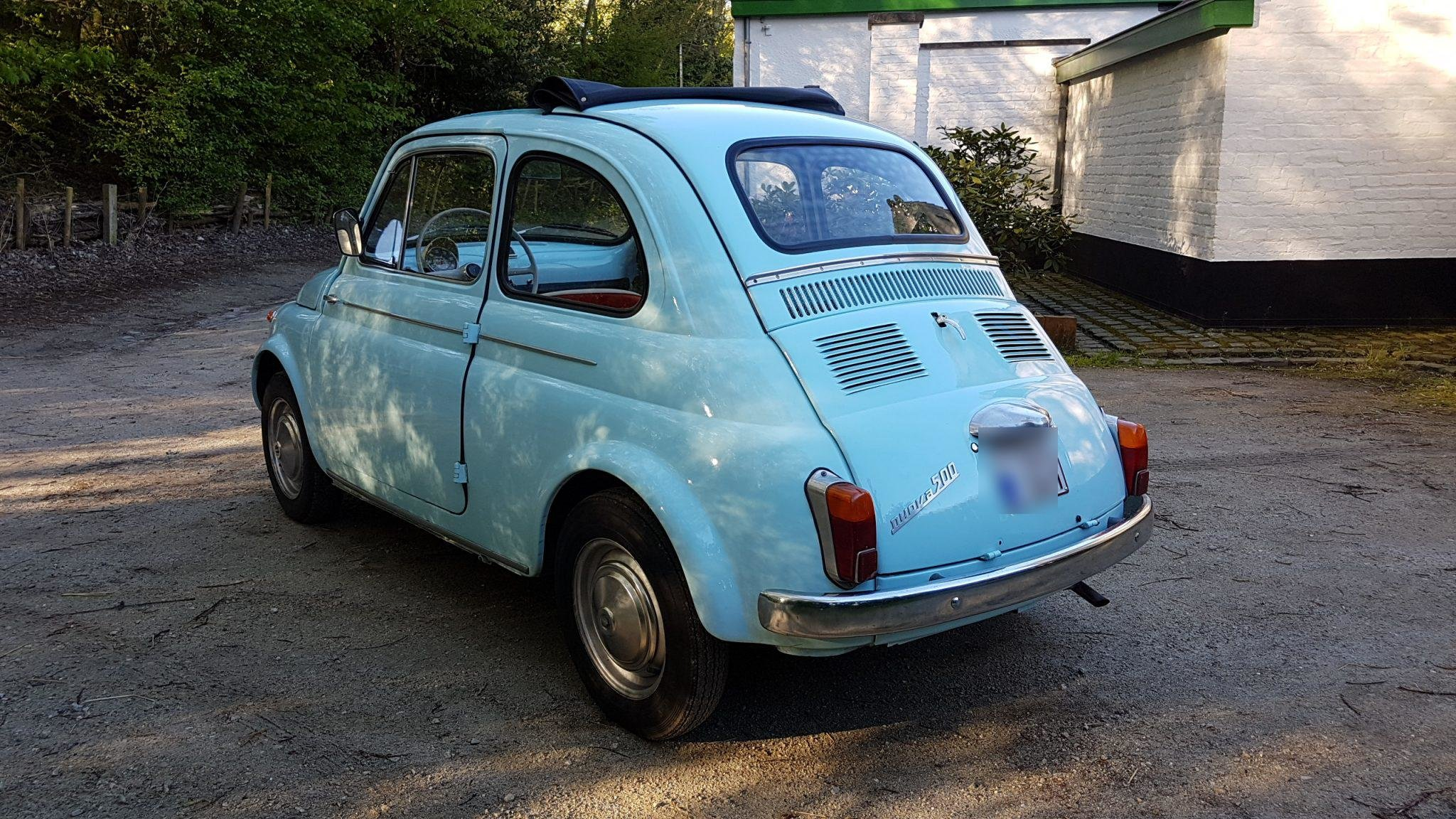 1965 Fiat 500 D Transformable For Sale (picture 4 of 6)