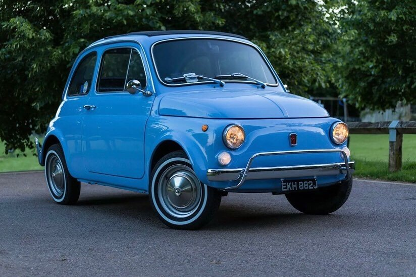 1968 CLASSIC FIAT 500 WEDDING HIRE   (picture 1 of 1)