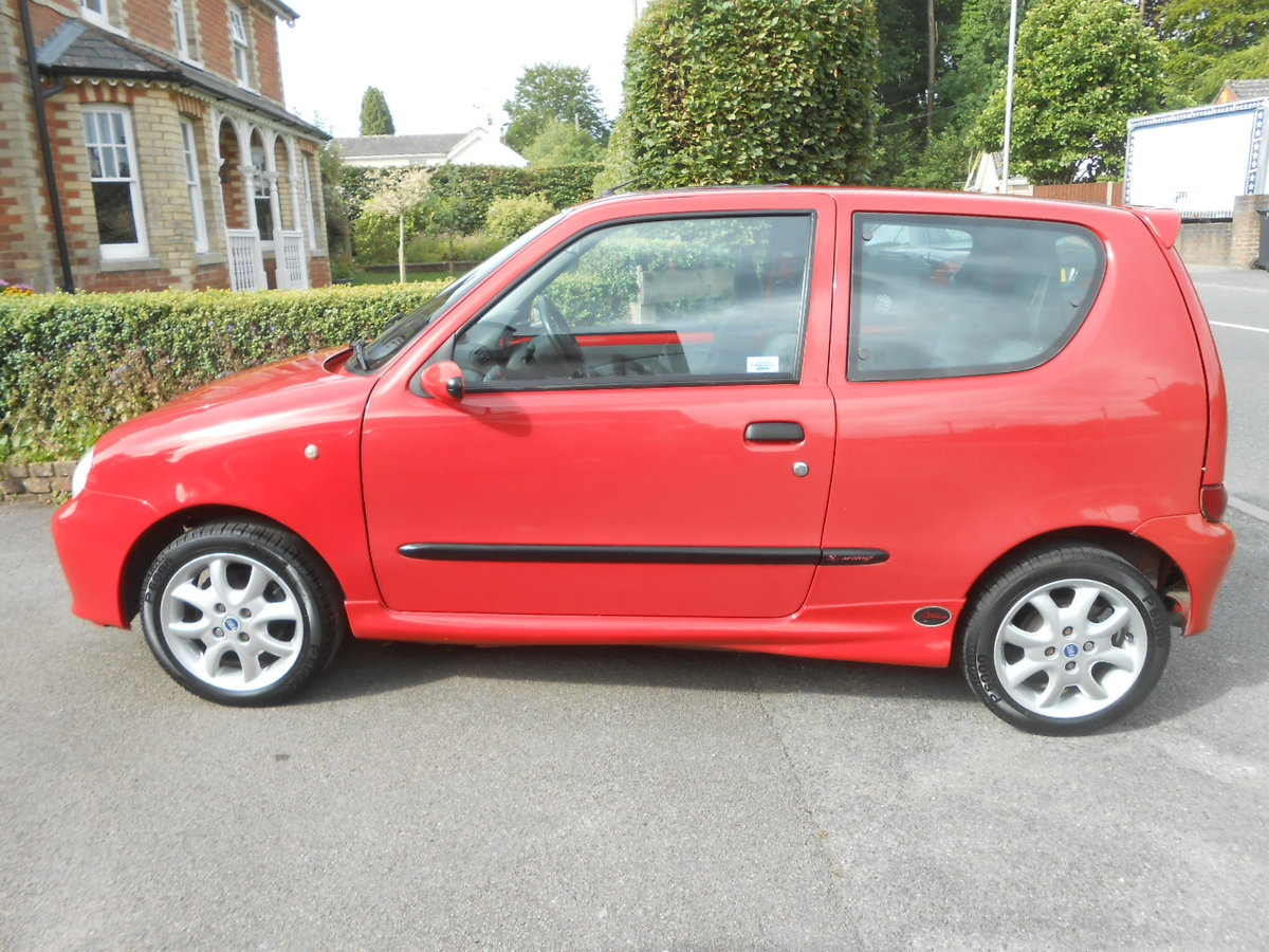 2002 Fiat seicento michael schumacher limeted edition For Sale (picture 3 of 6)