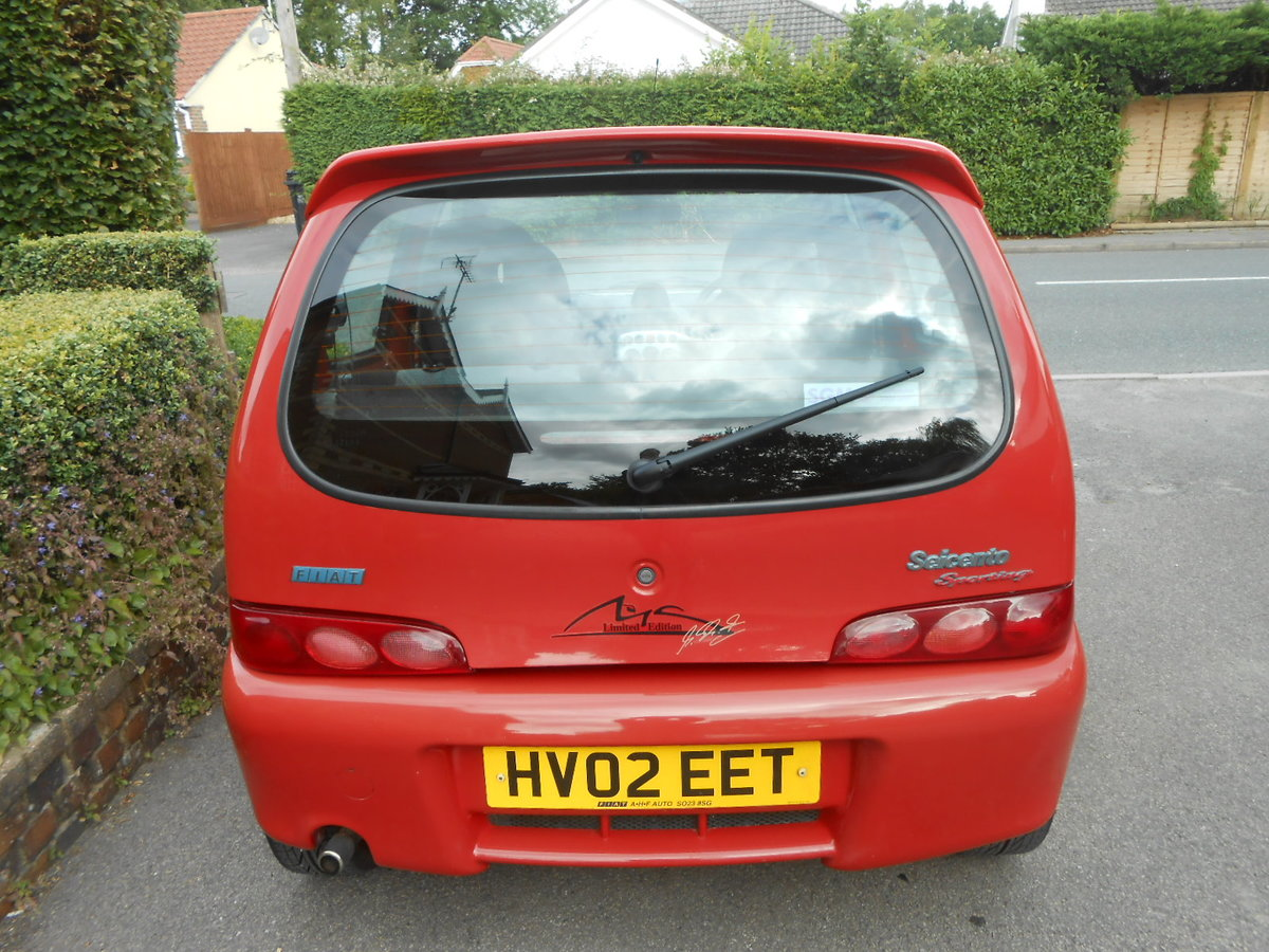 2002 Fiat seicento michael schumacher limeted edition For Sale (picture 4 of 6)