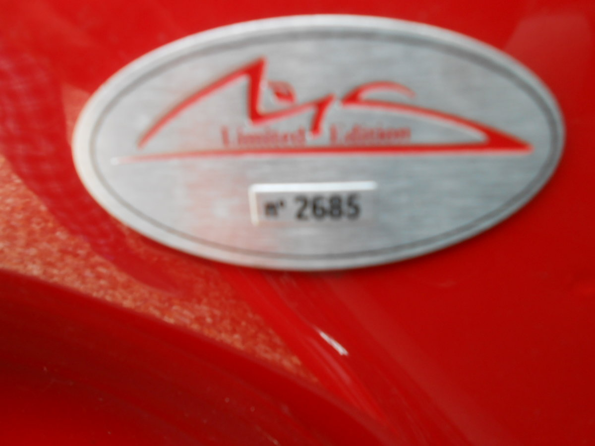 2002 Fiat seicento michael schumacher limeted edition For Sale (picture 6 of 6)