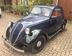 1937 Fiat 500 Topolino For Sale by Auction