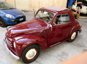 "FIAT 500C ""TOPOLINO"" CONVERTIBLE (1952) GREAT CONDITIONS"
