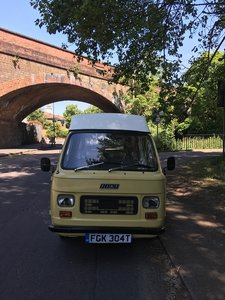 1978 Fiat 900t Amigo Classic Campervan Mobile Catering