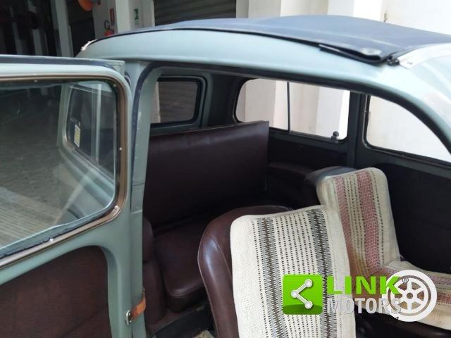 1954 FIAT - 500 C Giardinera. PEZZI ORIGINALI! SENZA RUGGINE! TE For Sale (picture 6 of 6)
