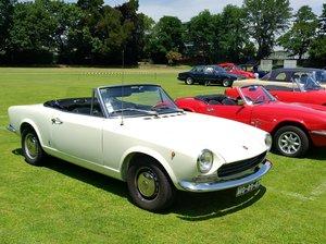 1967 Fiat 124 Sport Spider 1st Series