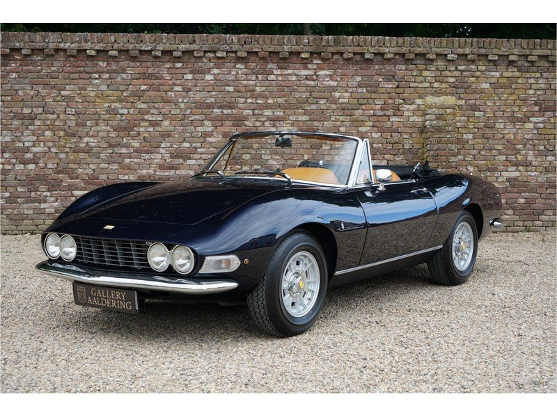 1967 Fiat Dino Spider 2.0 Well maintained example  For Sale (picture 1 of 6)