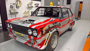 1976 Fiat 131 Abarth Rally Gr.4 old original