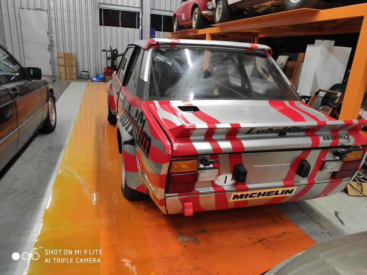 1976 Fiat 131 Abarth Rally Gr.4 old original For Sale (picture 2 of 6)