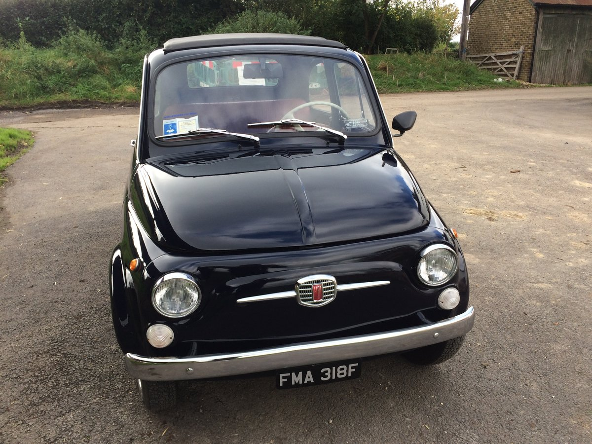 1968 Fiat 500 (Lhd) needs new home SOLD (picture 1 of 6)