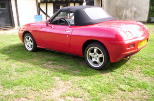 1996 a lovely example of a fiat barchetta