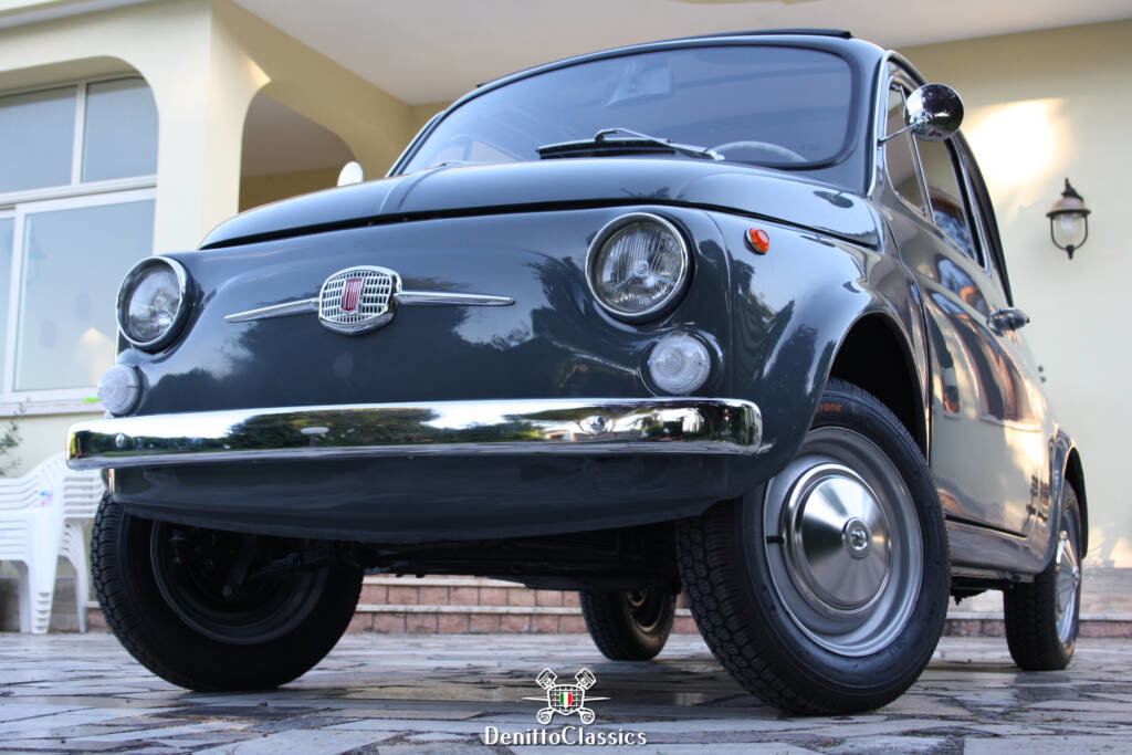 1969 - Fiat 500 F - Grey - Restored For Sale (picture 1 of 10)