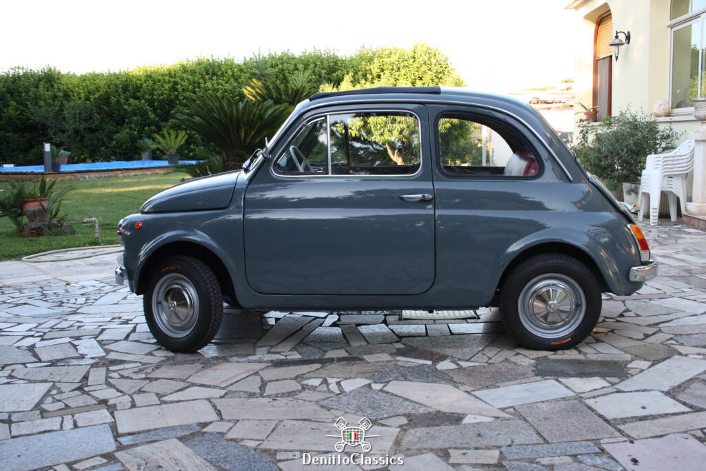 1969 - Fiat 500 F - Grey - Restored For Sale (picture 2 of 10)