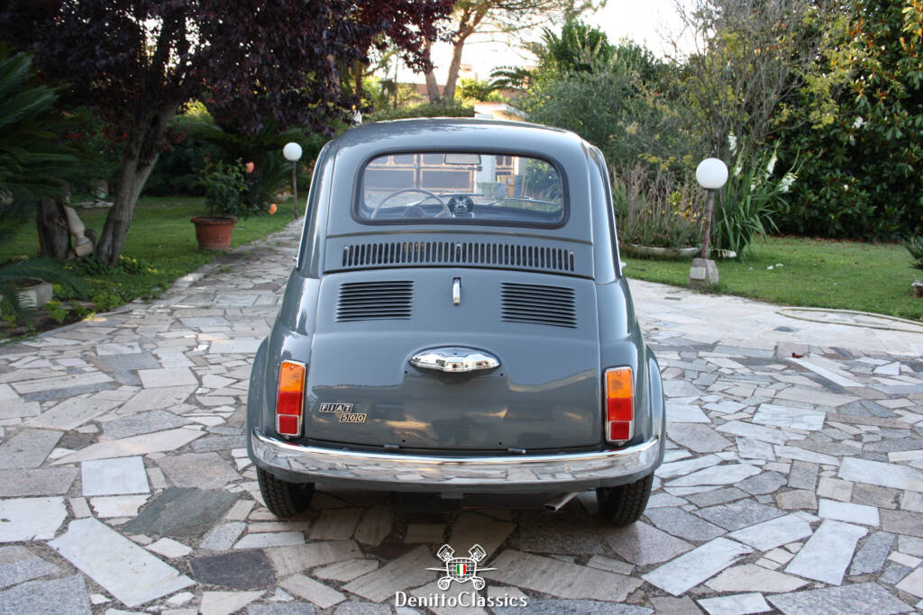 1969 - Fiat 500 F - Grey - Restored For Sale (picture 3 of 10)