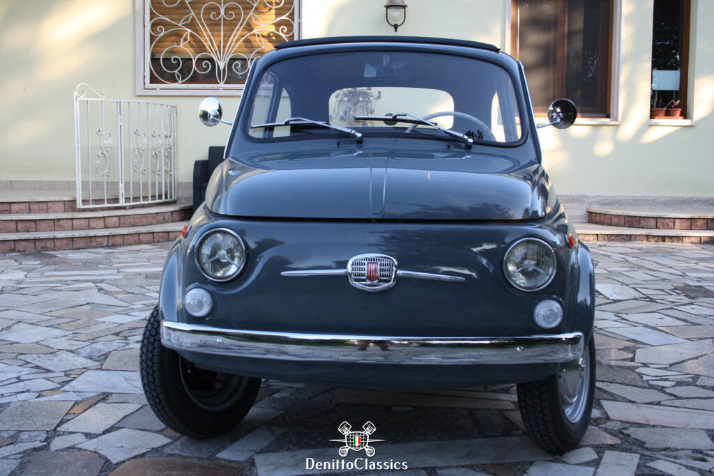 1969 - Fiat 500 F - Grey - Restored For Sale (picture 4 of 10)