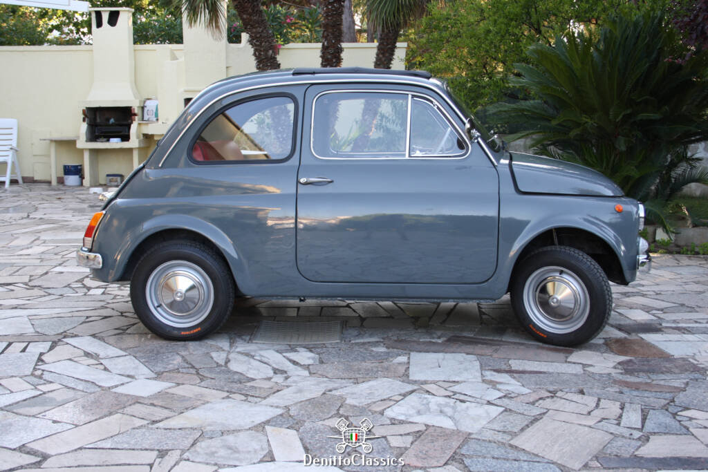 1969 - Fiat 500 F - Grey - Restored For Sale (picture 5 of 10)
