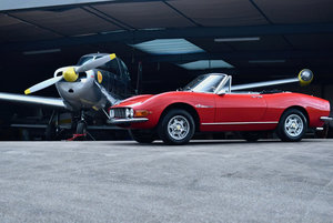 Fiat dino Spider 2000 ferrari engine