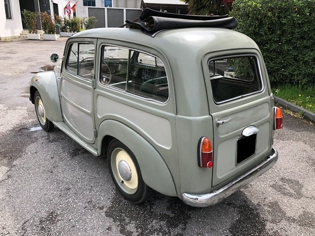 1952 Fiat - 500 C Belvedere For Sale (picture 2 of 6)