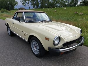 1981 Fiat 124 Spider TURBO   Very rare For Sale