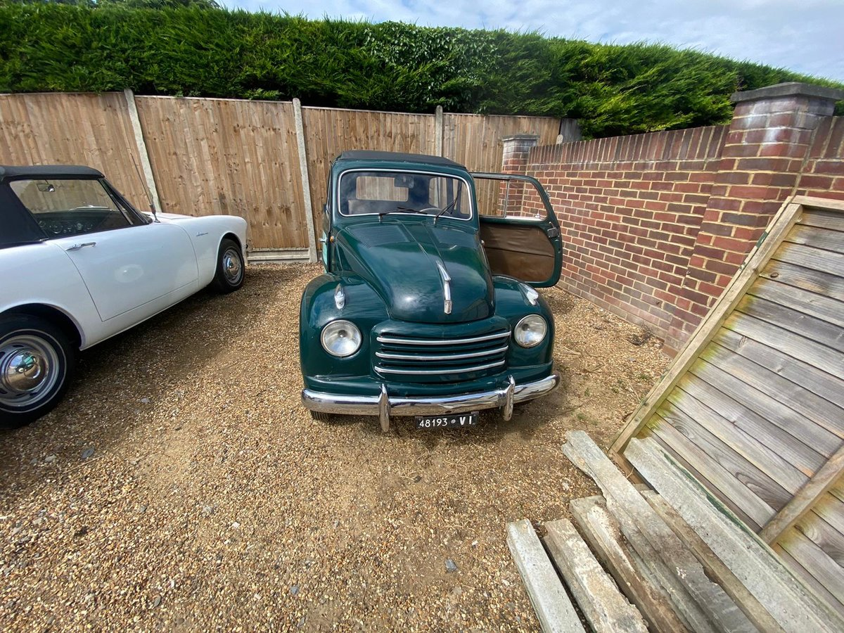 fiat  tipolino belverdere 1953 For Sale (picture 6 of 6)