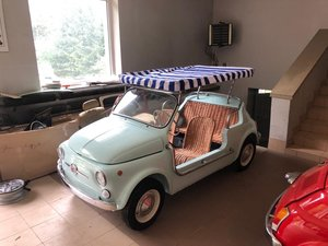 1968 Fiat 500 Jolly replica