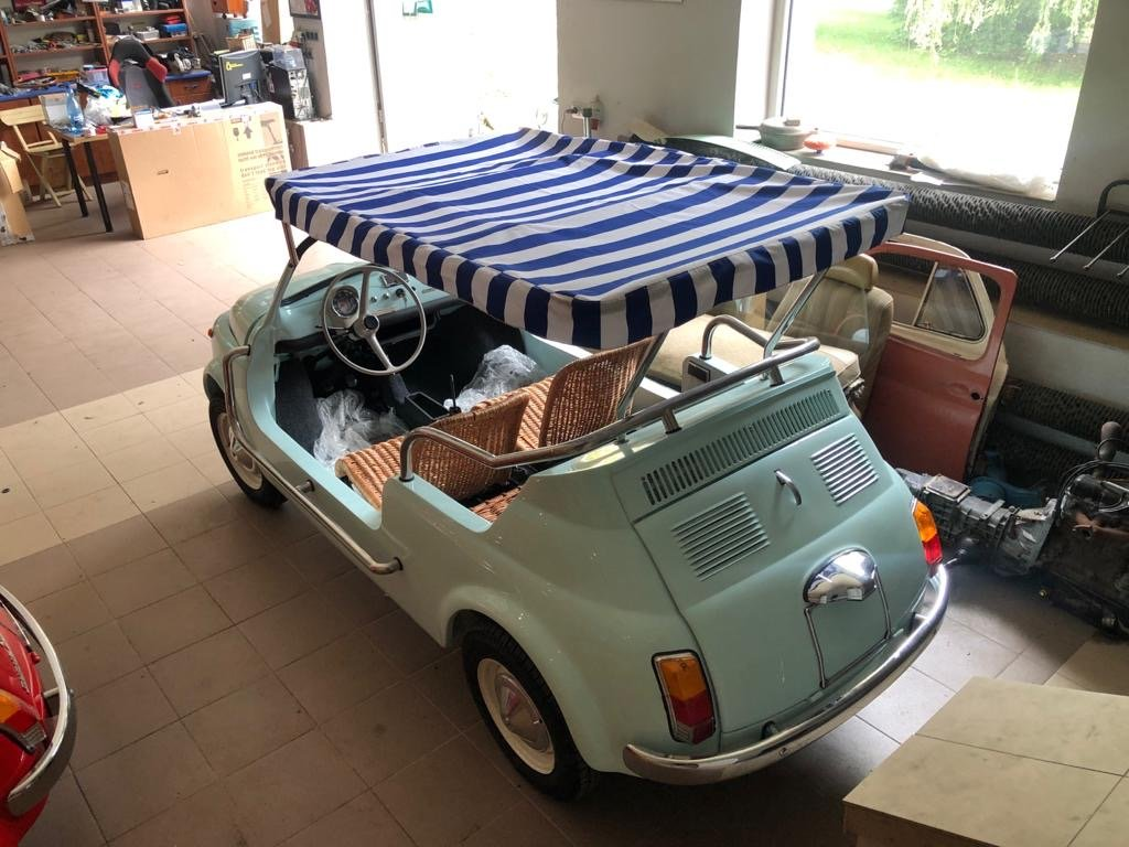 1968 Fiat 500 Jolly replica For Sale (picture 2 of 6)