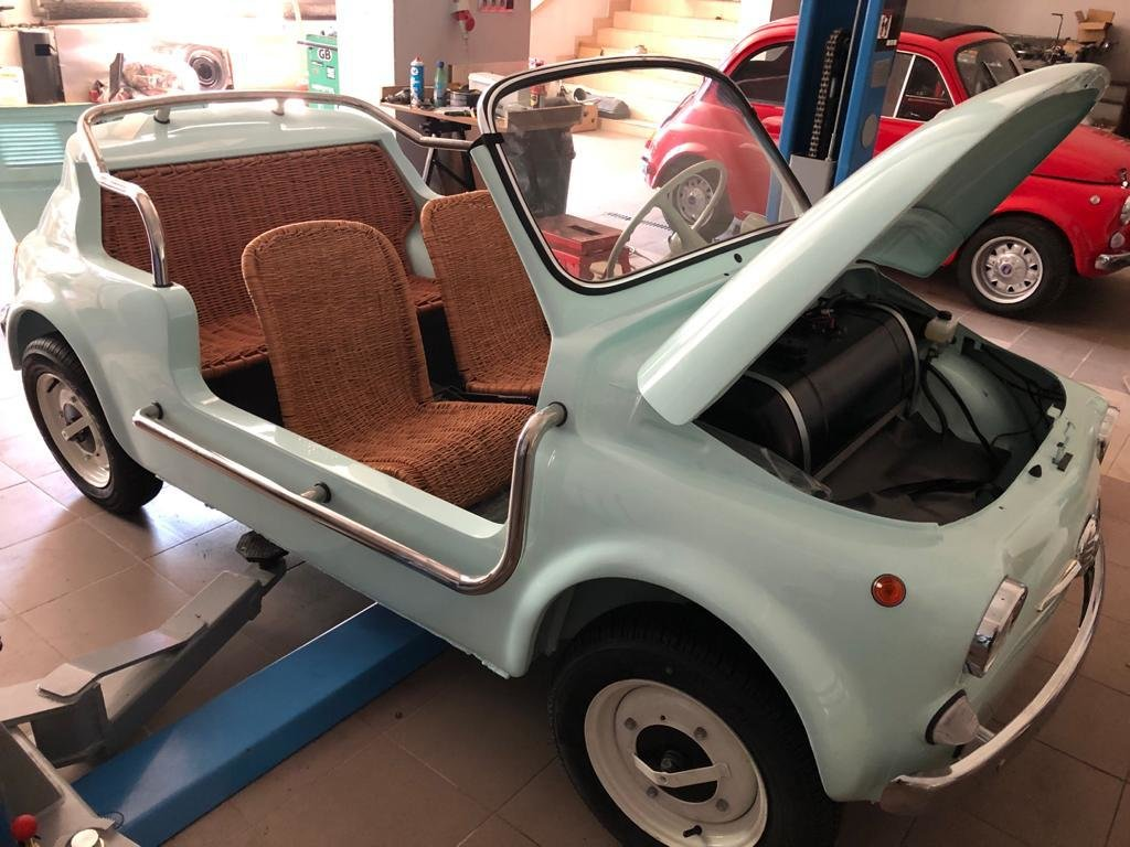1968 Fiat 500 Jolly replica For Sale (picture 3 of 6)