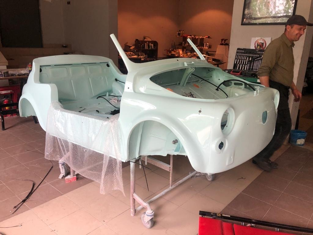 1968 Fiat 500 Jolly replica For Sale (picture 4 of 6)