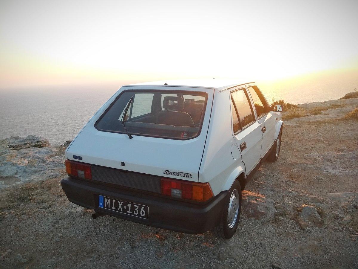 1987 Fiat Ritmo/strada Beautiful original RHD For Sale (picture 2 of 6)
