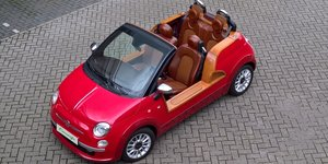 2012 Fiat 500 (modern Jolly) Ischia by Castagna Milano - one off For Sale