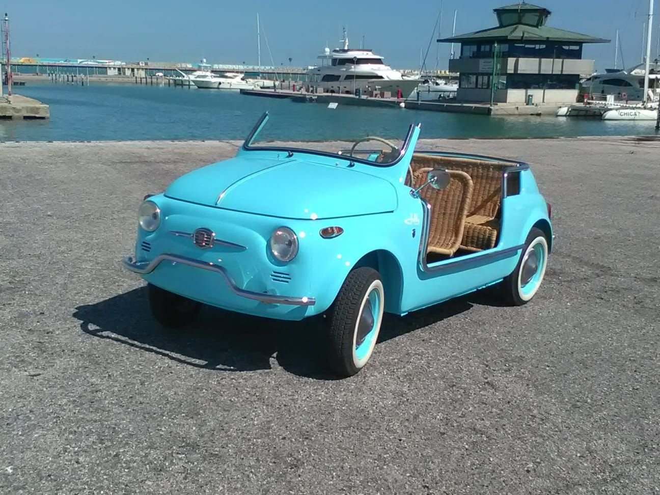 1969 CONVERTED Fiat 500 Vintage Model :  Holyday  BEACH car  For Sale (picture 2 of 6)