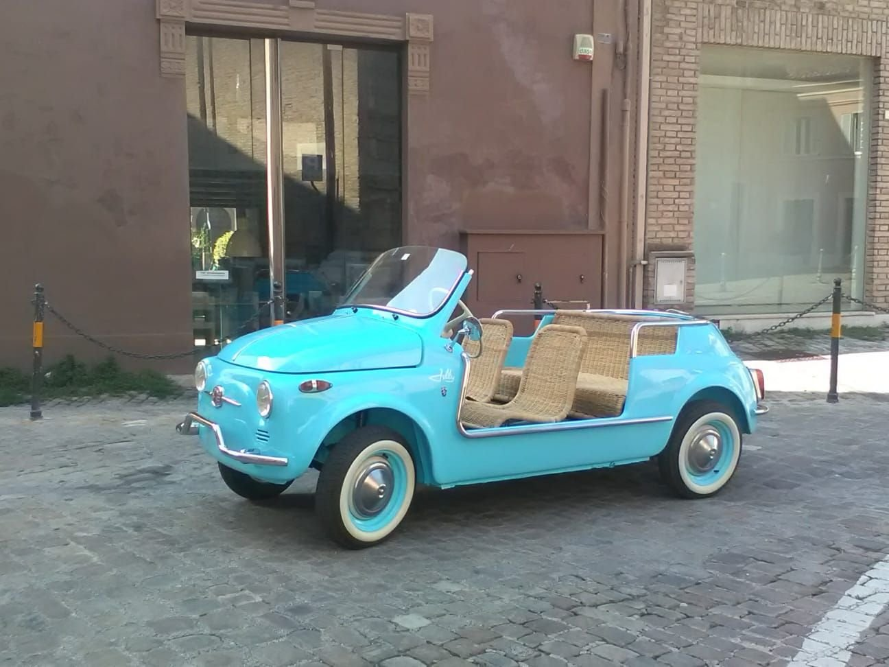 1969 CONVERTED Fiat 500 Vintage Model :  Holyday  BEACH car  For Sale (picture 3 of 6)