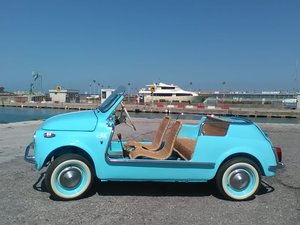 FIAT 500 VINTAGE MODEL JOLLY  100% Restaurata made in Italy