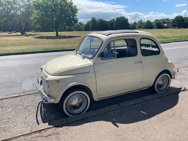 1972 Fiat 500 - one previous owner pristine condition For Sale (picture 1 of 6)