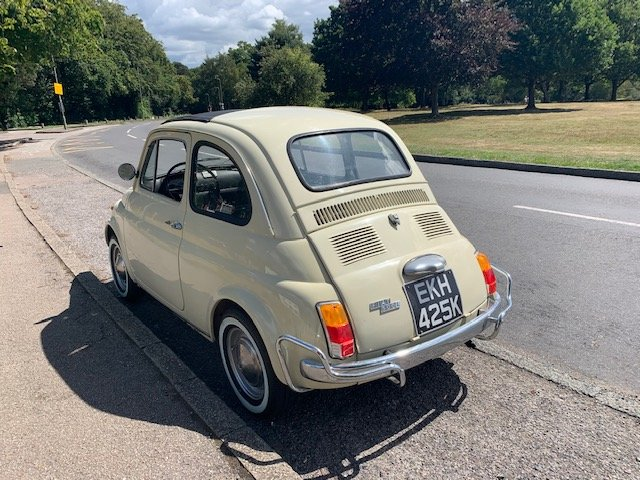 1972 Fiat 500 - one previous owner pristine condition For Sale (picture 2 of 6)