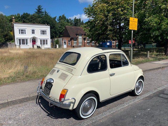 1972 Fiat 500 - one previous owner pristine condition For Sale (picture 3 of 6)