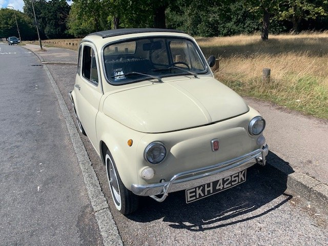 1972 Fiat 500 - one previous owner pristine condition For Sale (picture 4 of 6)
