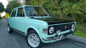 1971 Fiat 128 Rally in showroom condition. Rare colour