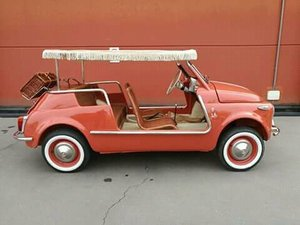 Picture of 1970 CONVERTED  lhd Fiat 500 Vintage Model JOLLY Holyday car For Sale